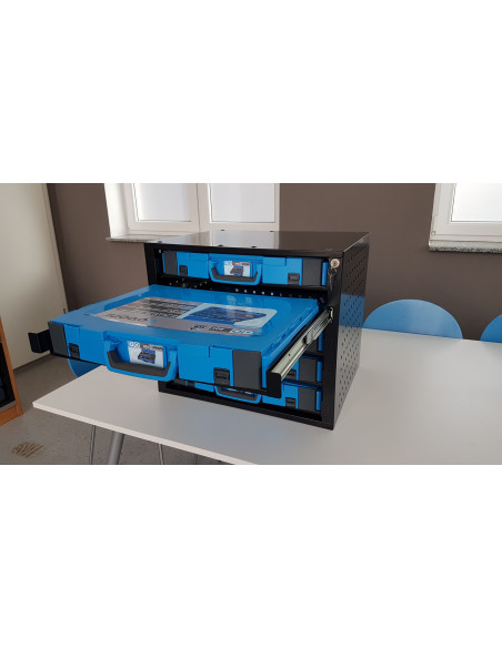 System stacking cabinet for gobox